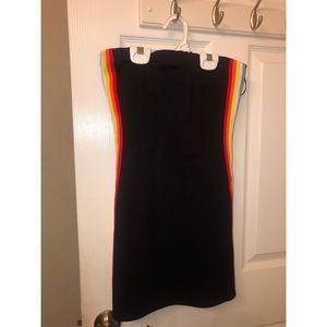Forever 21 multi color tube dress